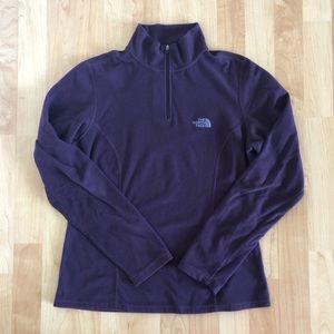 The North Face 1/4 Zip Fleece {Medium}